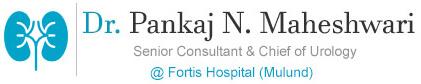 Dr. Pankaj Maheshwari Logo - Urologist