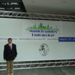 World congress of endourology at Munich 2009