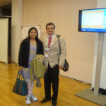 with Dr Reeta at the European Urology meeting at Vienna 2011