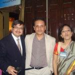with friends Dr Sanjay Parashar, Dubai & Dr Meenakshi Sharma, Delhi